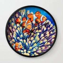 Clown Fish Wall Clock
