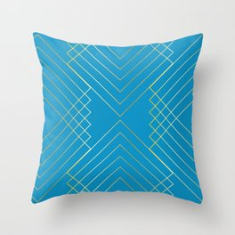 Art Nouveau Geo B Throw Pillow