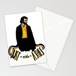 """Pierre Bezukhov """"Dust and Ashes""""  Stationery Cards"""