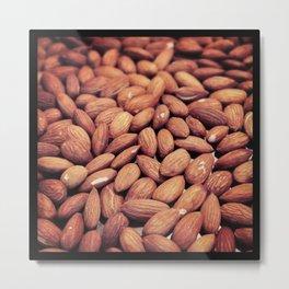 Toasted Almonds Metal Print