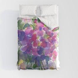 Little Pink Violets Comforters