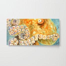 California Octopus Metal Print