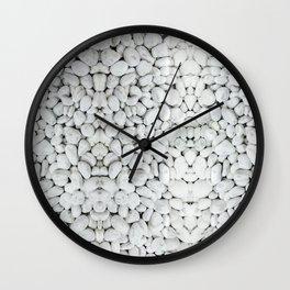 white river stone pebbles river rock Wall Clock