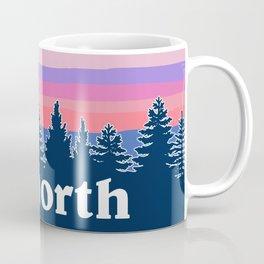 up north, pink hues Coffee Mug