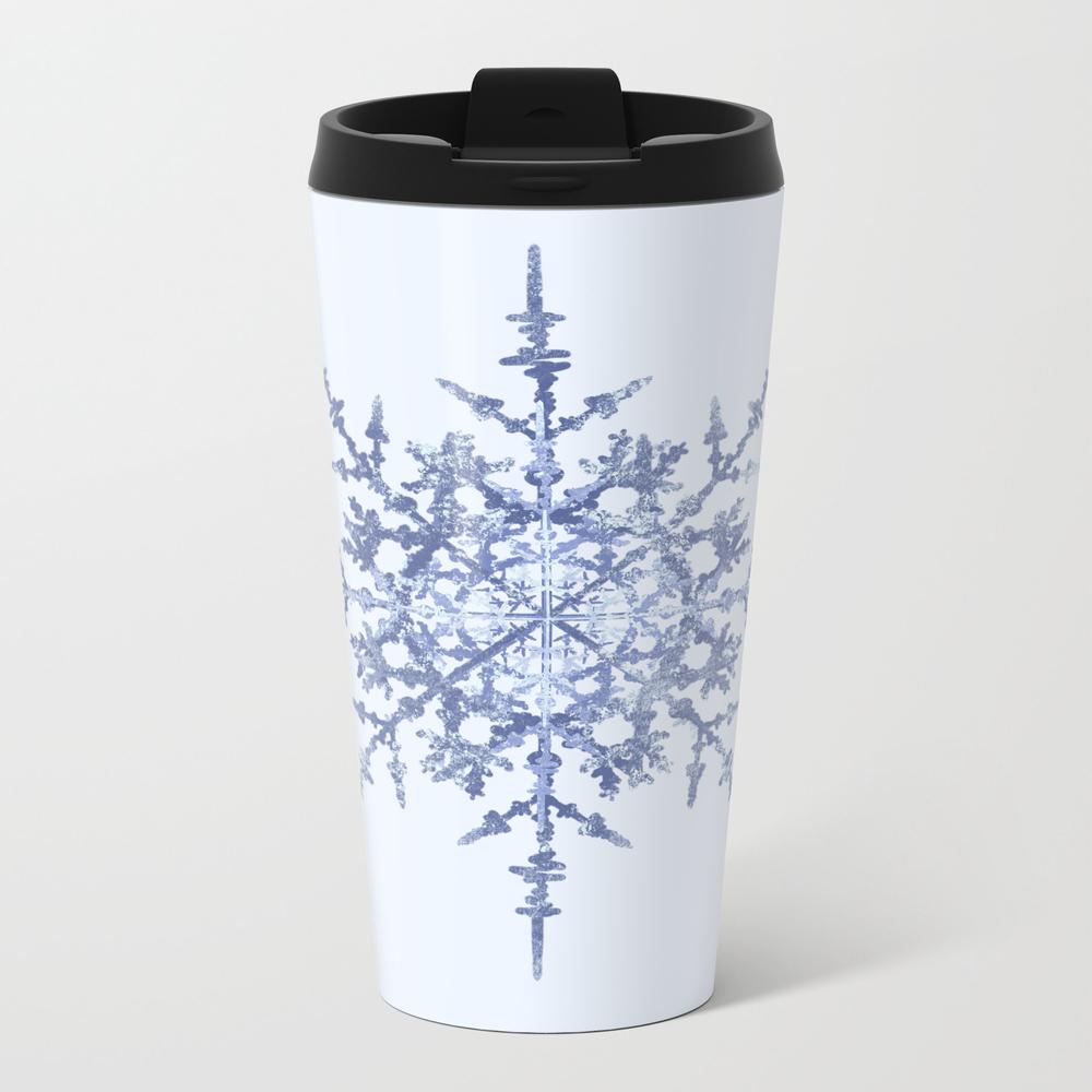 Winter Snowflake Travel Mug TRM7748096