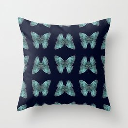 Butterflyes Throw Pillow