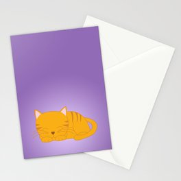 Orange Tabby Kitten Stationery Cards