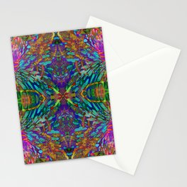 Buddha 5 geometry III Stationery Cards