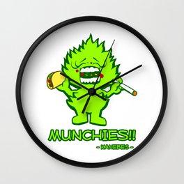 Munchies Wall Clock