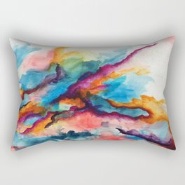 Creativity Breaching the Void Rectangular Pillow
