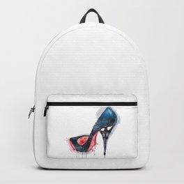 Eiffel Tower Shoe Backpack