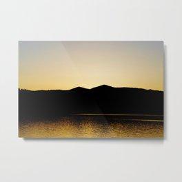 Gold Reflex Metal Print