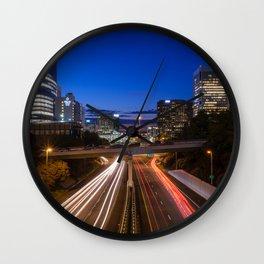 Richmond VA Morning Commute Wall Clock