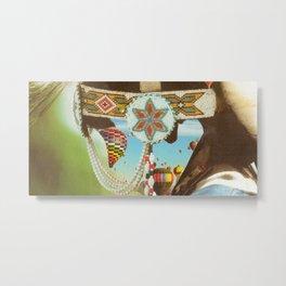 Air (Balloon) Head (Collage) Metal Print