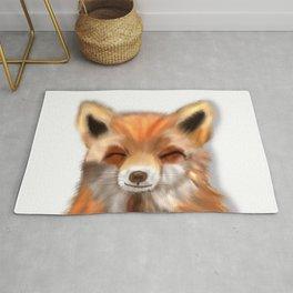 Happy Fox Rug