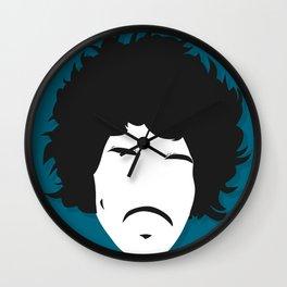 Jimi Hendrix, Minimalist Rolling Stone Magazine Cover Wall Clock