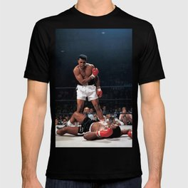 MuhammadAli Boxing Poster Print T-shirt