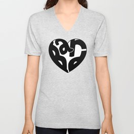 Heart Bard Unisex V-Neck