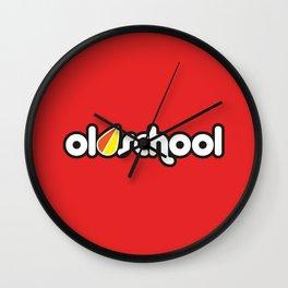 OLDSCHOOL v3 HQvector Wall Clock