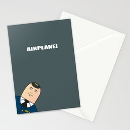 Airplane - Alternative Movie Poster Stationery Cards