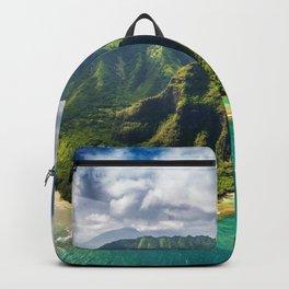 Island of Kauai, Hawaiian Islands Backpack