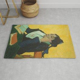 Vincent van Gogh - L'Arlésienne: Madame Joseph-Michel Ginoux (Marie Julien, 1848–1911) Rug