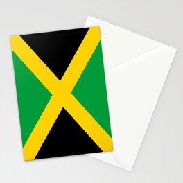 Flag of Jamaica - Jamaican flag Stationery Cards