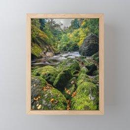 Fairy Glen Snowdonia Framed Mini Art Print