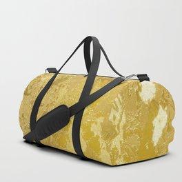 golden vintage Duffle Bag
