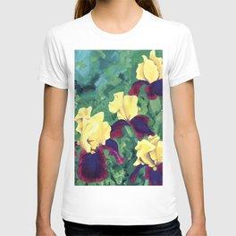 Bright Irises T-shirt