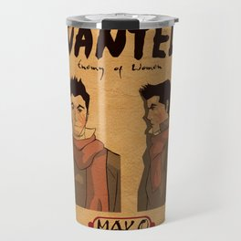 Mako - Enemy of Women Travel Mug