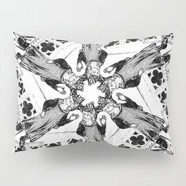 Medieval Madness Mandala Gothic Symmetry Pillow Sham