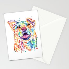 Rescued is My Favorite Breed Stationery Cards