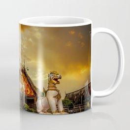 Wang Wiwekaram Temple Sangkhla Buri Coffee Mug