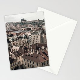 Prague Rooftop 02 Stationery Cards