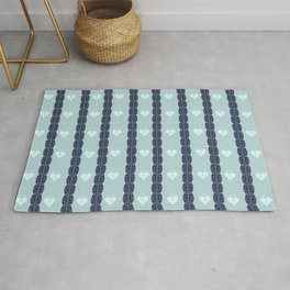 Blue Locket Rug