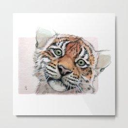 Tiger Cub 887 Metal Print