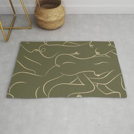 _melting together Rug