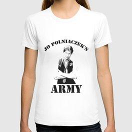 Jo Polniaczek's Army T-shirt