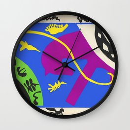 Horse Rider and Clown - Henri Matisse Wall Clock