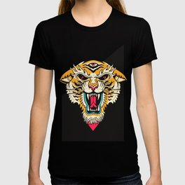 Tiger 3 Eyes T-Shirt