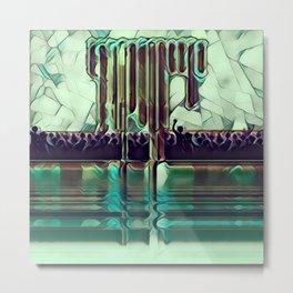 Escape into the Music. Metal Print