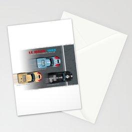 GT40 Finish side by side 1966 Landscape Stationery Cards