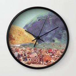 Lunar Beach Wall Clock