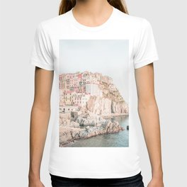 Positano, Italy Amalfi Coast Romantic Photography T-shirt