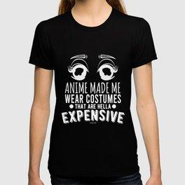 Manga Cosplay superhero costume T-shirt