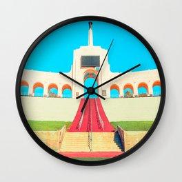 Bright Coliseum Wall Clock