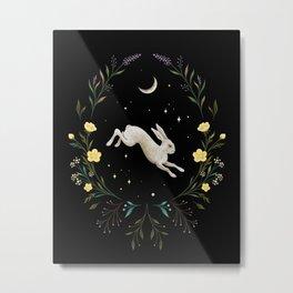Easter Bunny Night 1 Metal Print