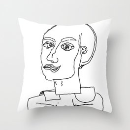 At midnight you are thinking what you and others are Throw Pillow