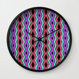 Bright Cheveron Wall Clock